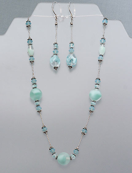 Aqua Chech necklace
